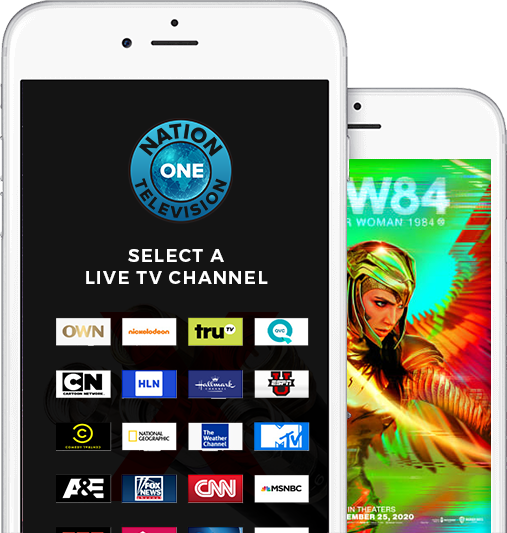 Live TV streaming, free cable tv, cut the cable, Nation One TV